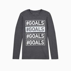 Rockets of Awesome REFLECTIVE #GOALS ACTIVE TEE